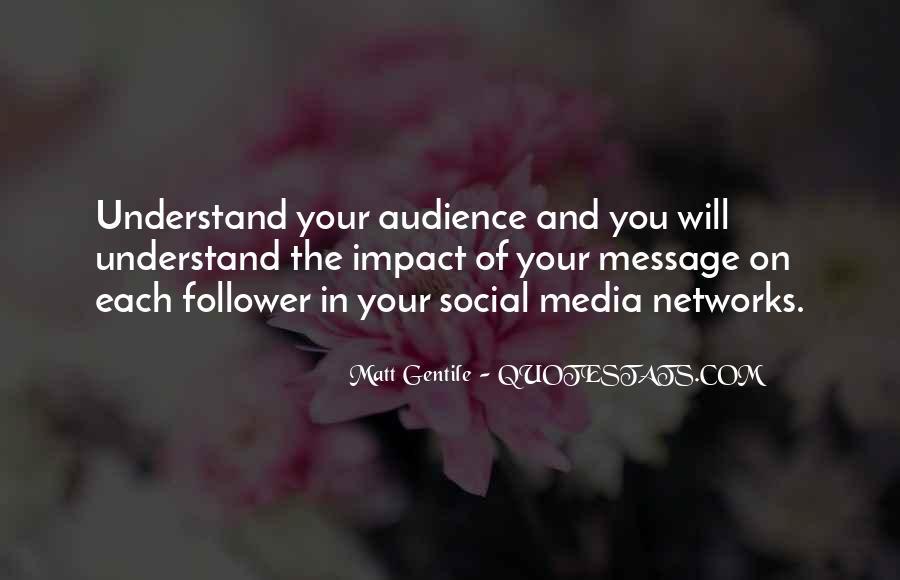 Social Impact Quotes #1196857