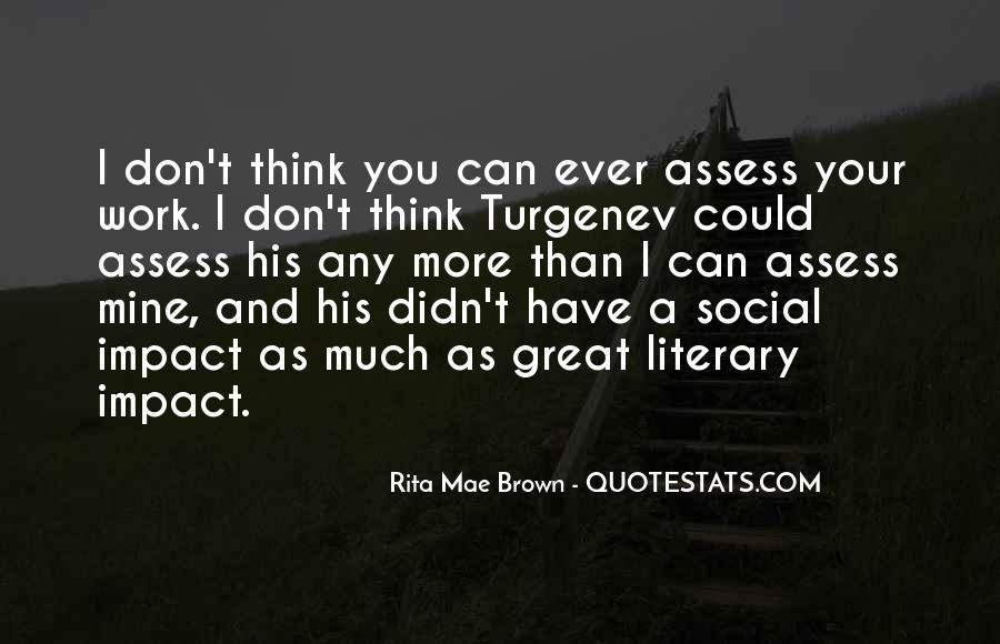 Social Impact Quotes #1275693