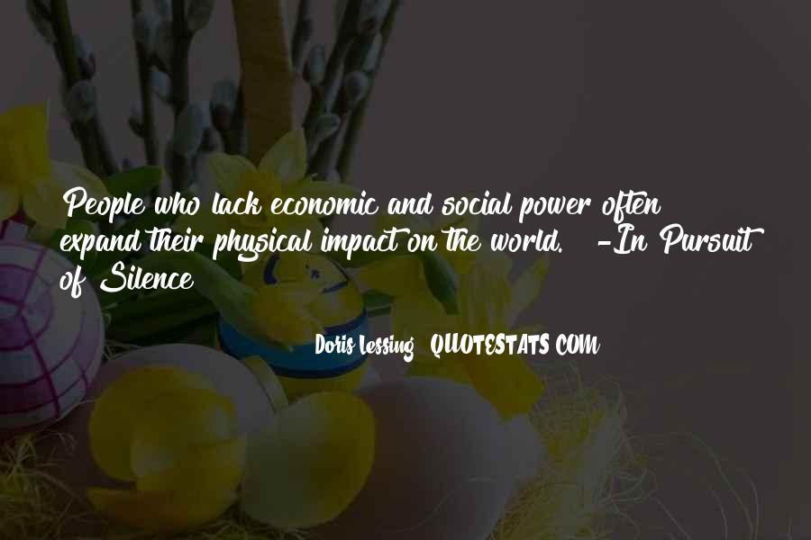 Social Impact Quotes #1304267