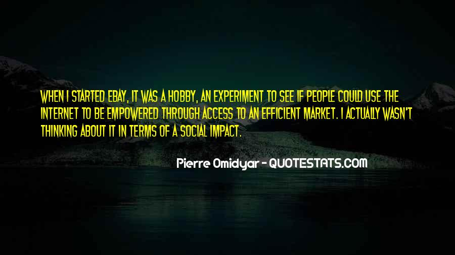 Social Impact Quotes #1326404