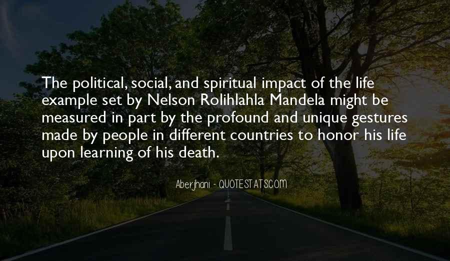 Social Impact Quotes #1338811