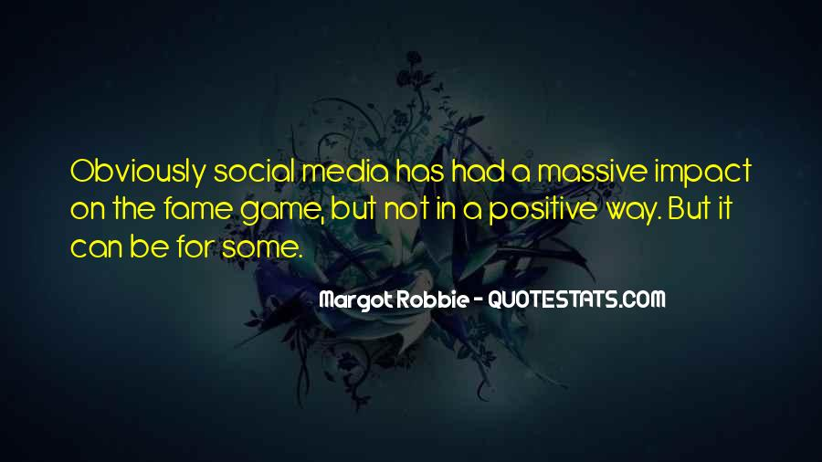 Social Impact Quotes #1365580