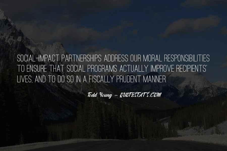 Social Impact Quotes #1454765
