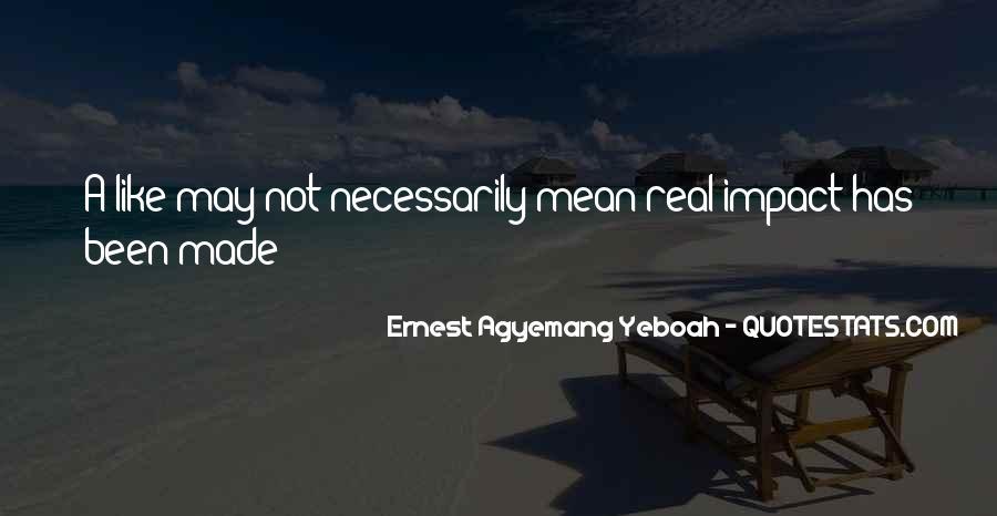 Social Impact Quotes #1479539