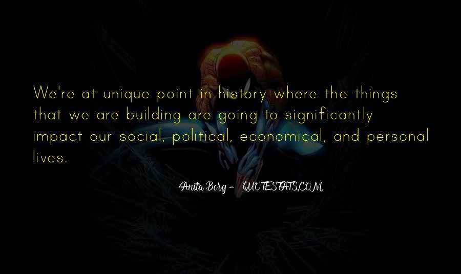 Social Impact Quotes #1519320