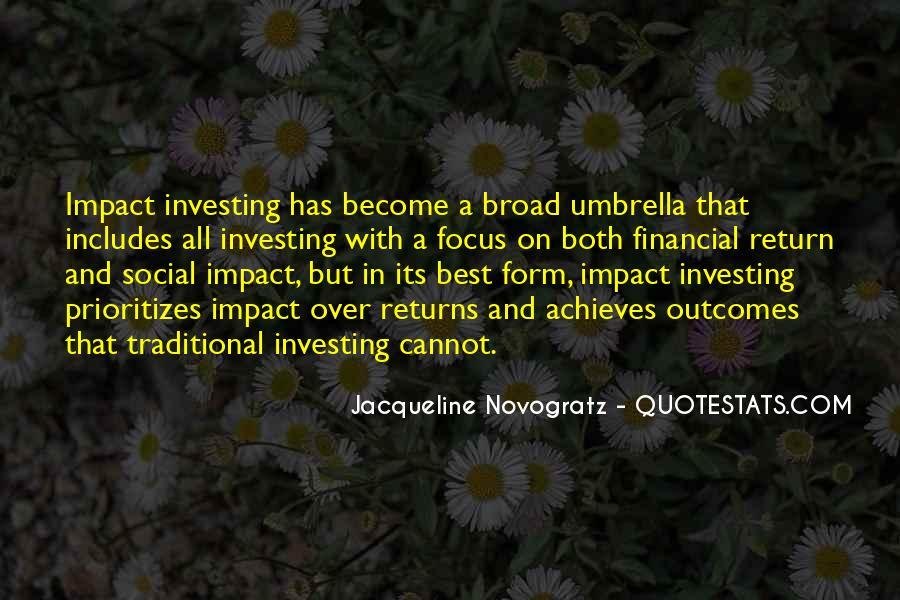 Social Impact Quotes #1519544
