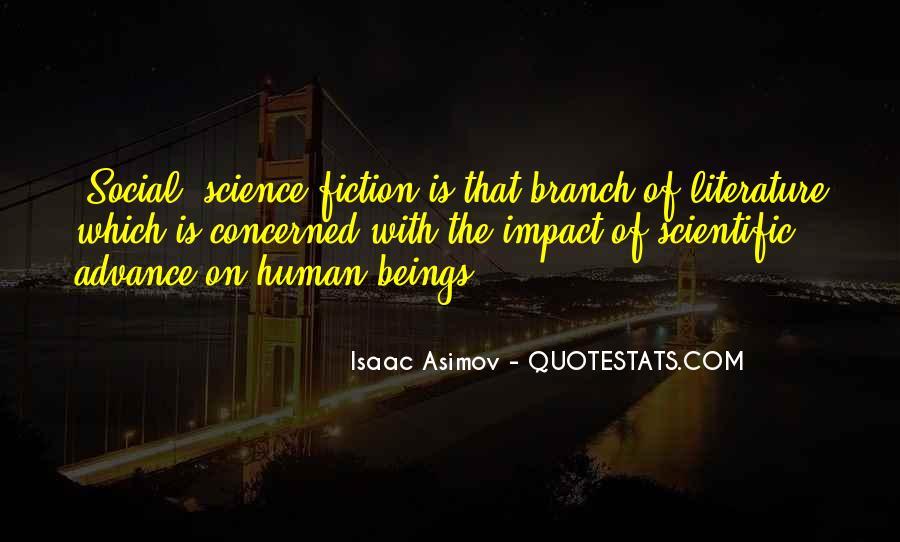 Social Impact Quotes #1548676