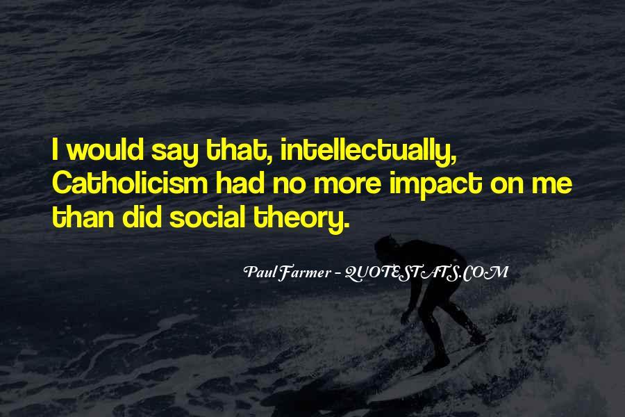 Social Impact Quotes #1614826