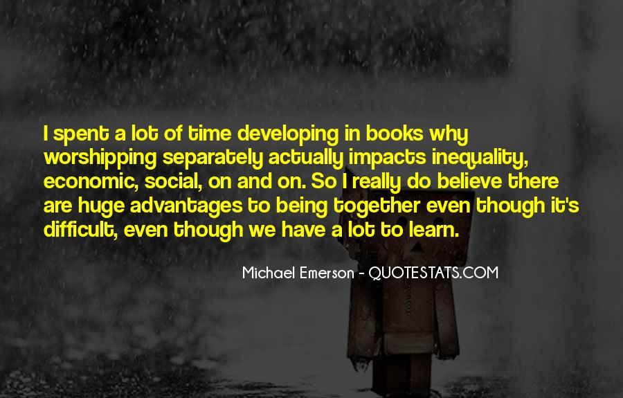 Social Impact Quotes #1645342