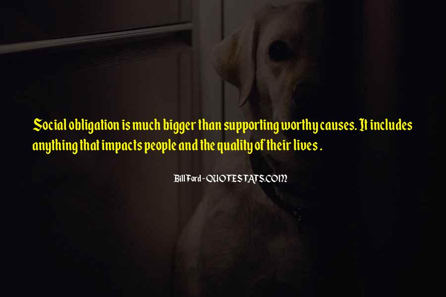 Social Impact Quotes #1731076