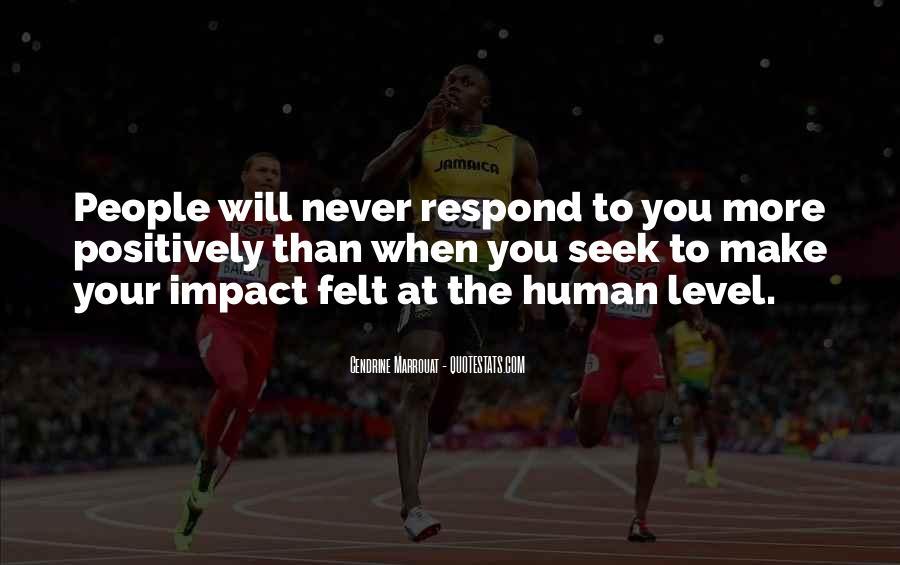 Social Impact Quotes #1809135