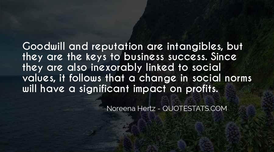 Social Impact Quotes #1834257