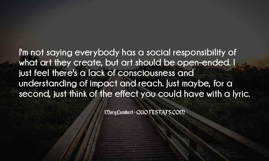 Social Impact Quotes #1850013