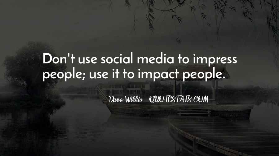 Social Impact Quotes #1872017