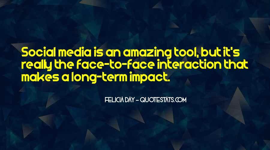 Social Impact Quotes #266024