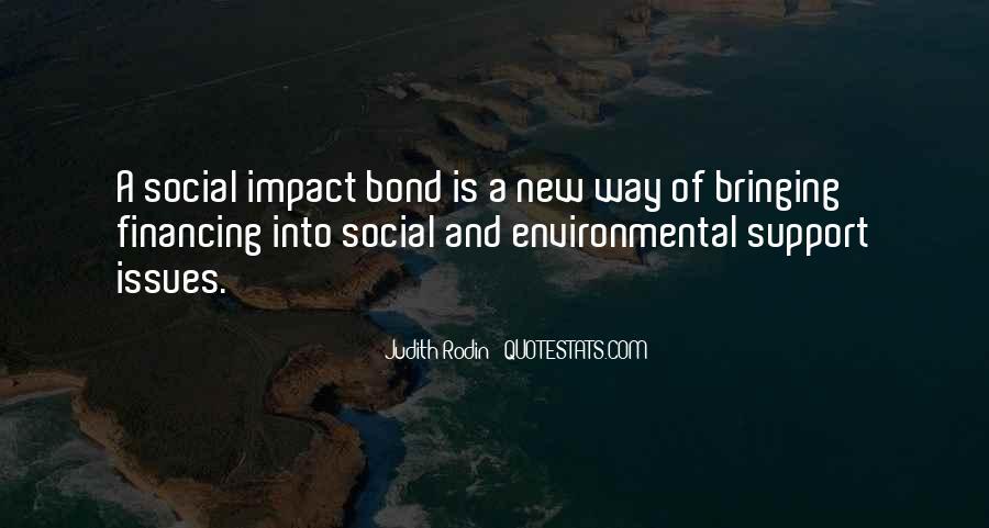 Social Impact Quotes #387445