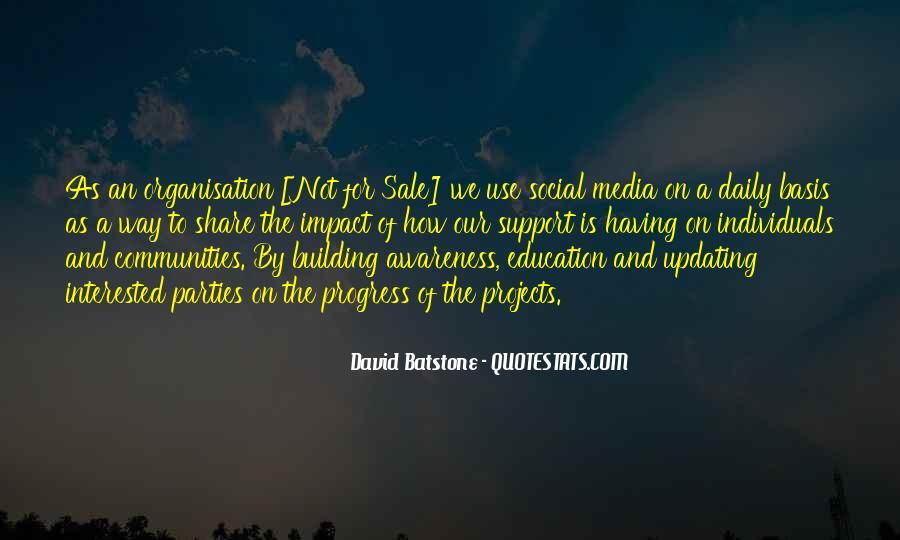 Social Impact Quotes #408944