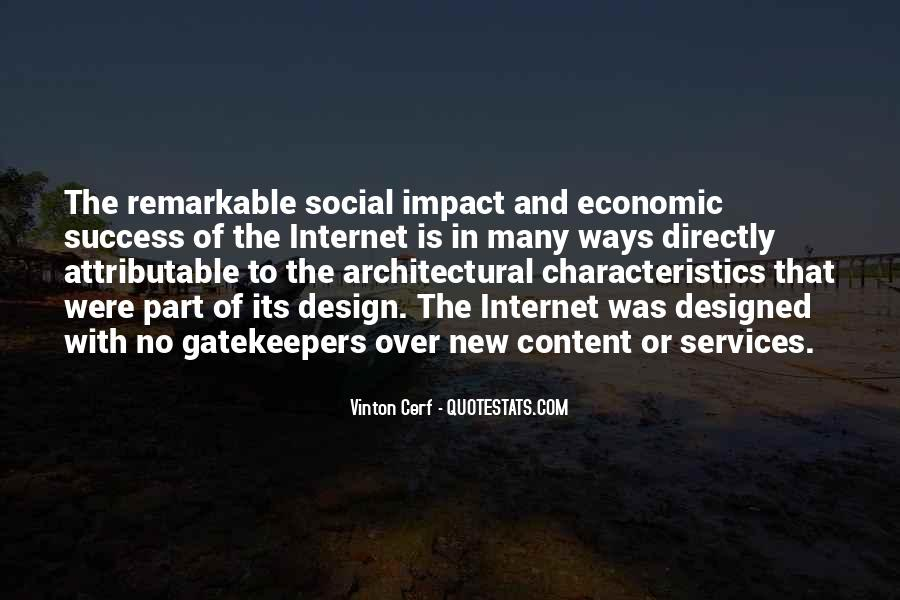 Social Impact Quotes #557487