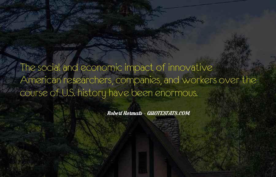 Social Impact Quotes #736776