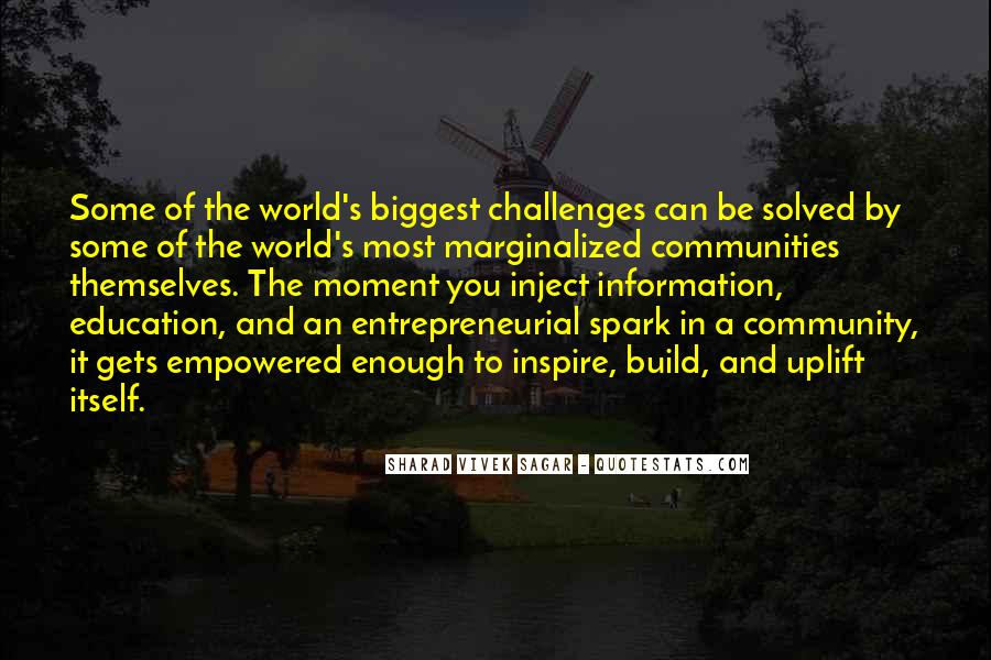 Social Impact Quotes #819174