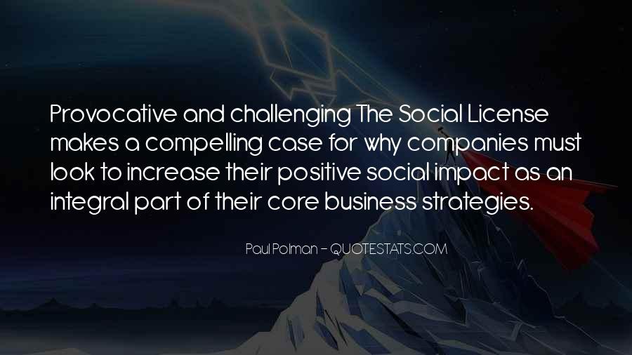 Social Impact Quotes #933917