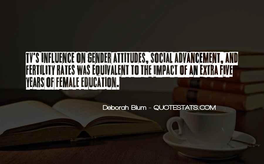 Social Impact Quotes #938291