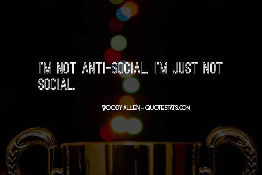 Social Indifference Quotes #1286492