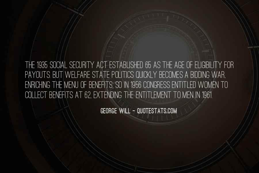 Social Security Act 1935 Quotes #702743