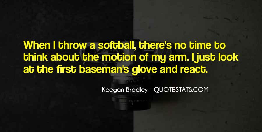 Softball Glove Quotes #1565194