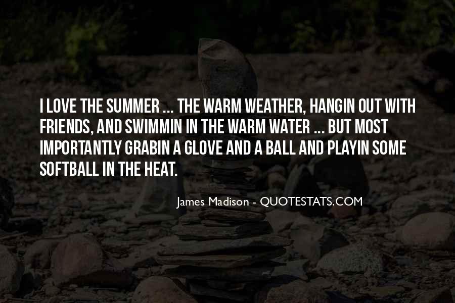 Softball Glove Quotes #771045