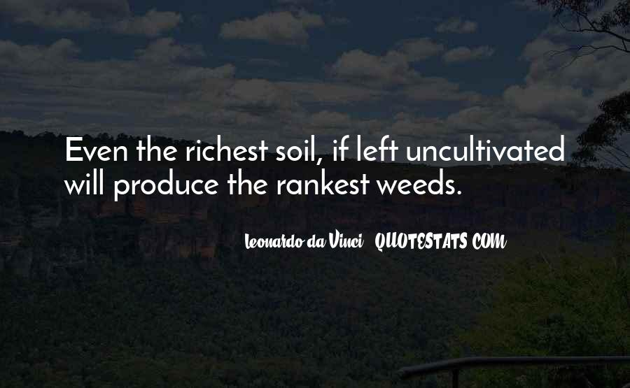 Soil Life Quotes #1283693