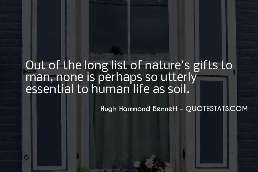Soil Life Quotes #1301189