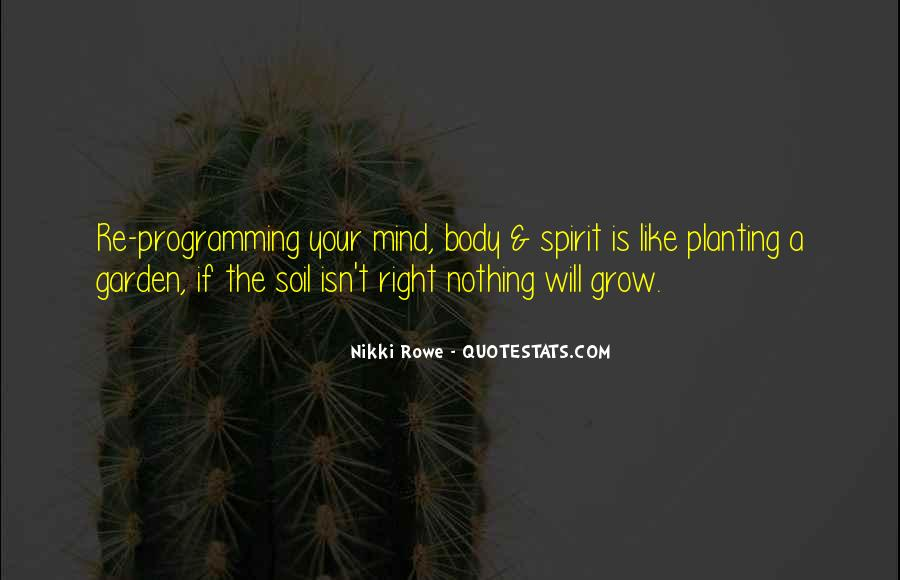 Soil Life Quotes #1392750