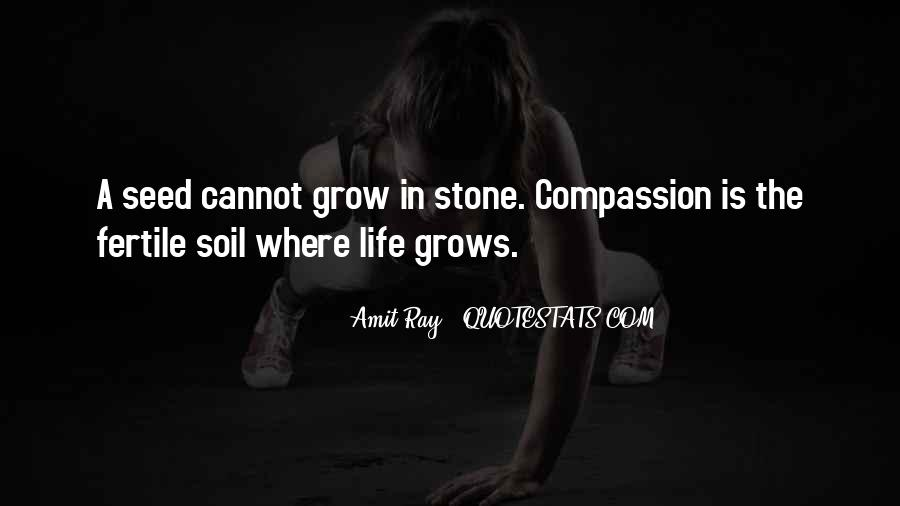 Soil Life Quotes #1509487