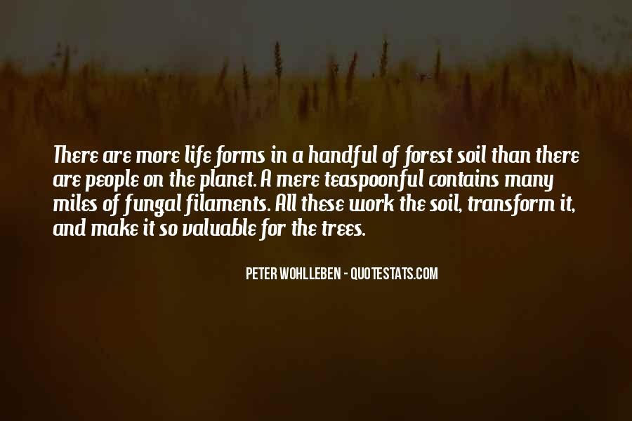 Soil Life Quotes #1612533