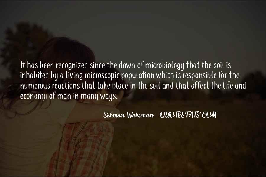 Soil Life Quotes #1624631