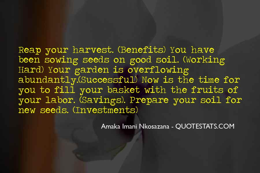 Soil Life Quotes #51598