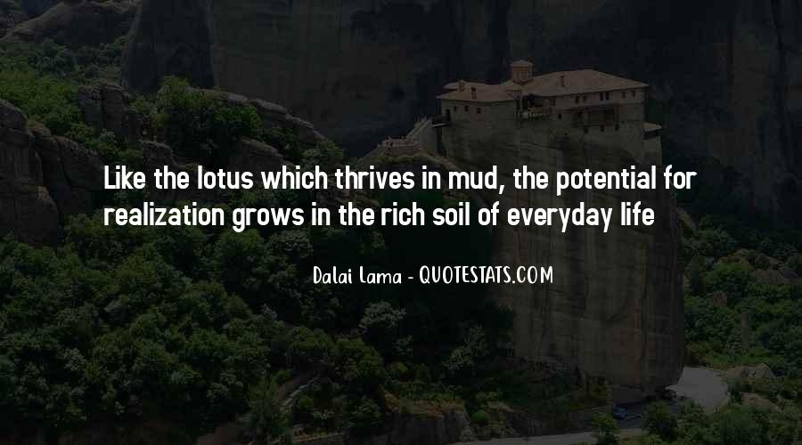 Soil Life Quotes #920167