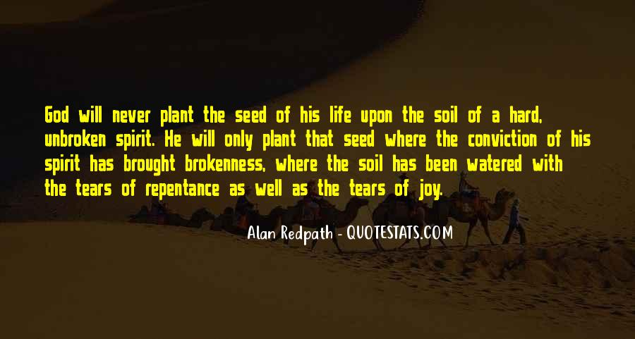 Soil Life Quotes #933752