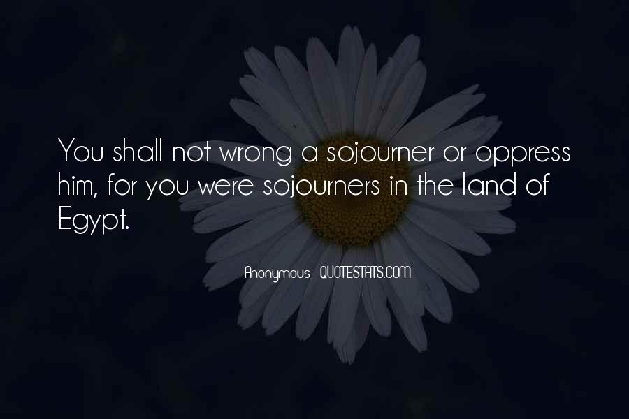 Sojourner Quotes #1186105