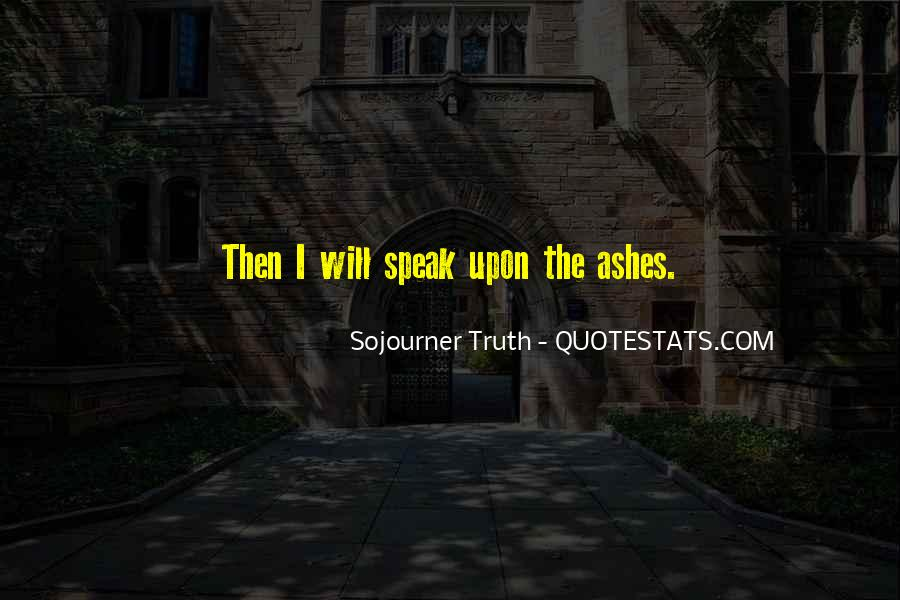 Sojourner Quotes #1686444