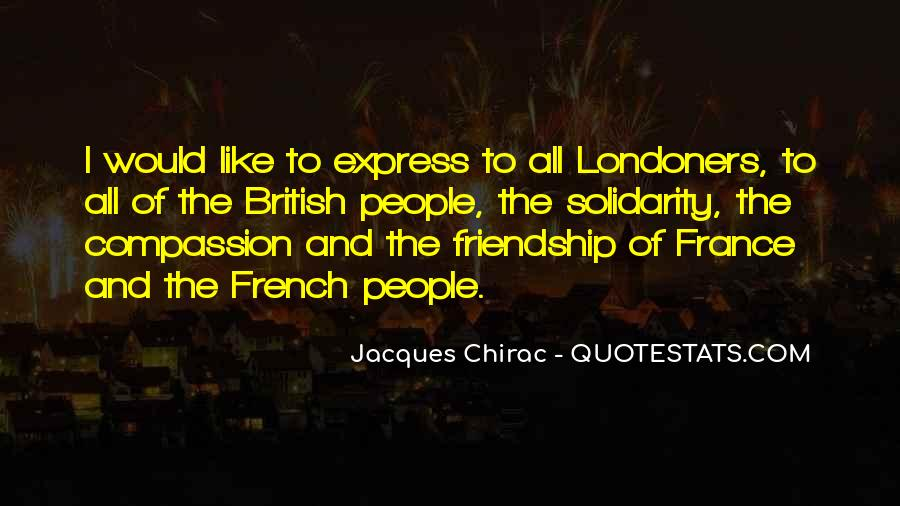 Solidarity Friendship Quotes #1484492