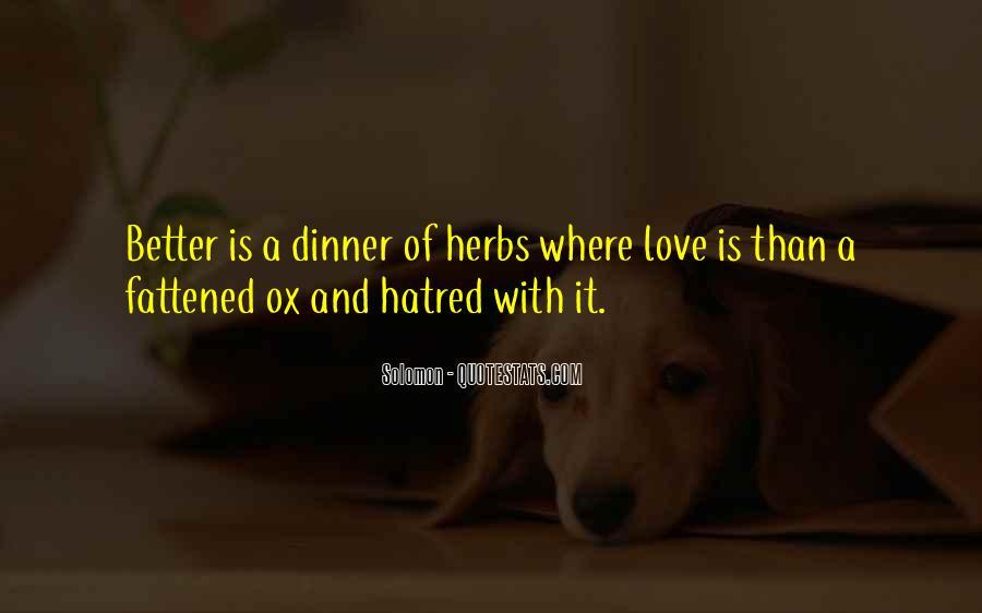 Solomon Love Quotes #1124431