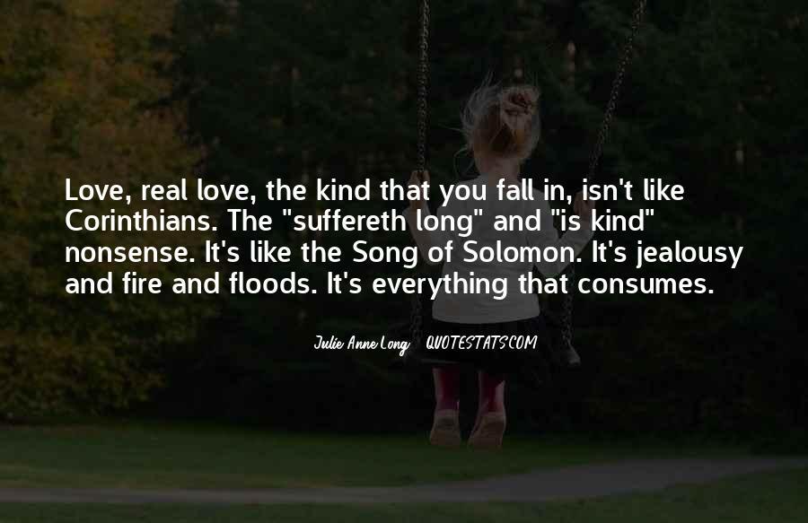 Solomon Love Quotes #1202104
