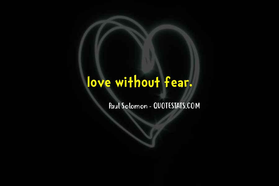Solomon Love Quotes #1348017