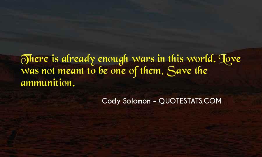 Solomon Love Quotes #1388149