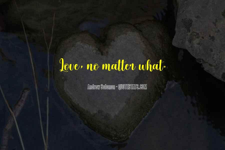 Solomon Love Quotes #1420659