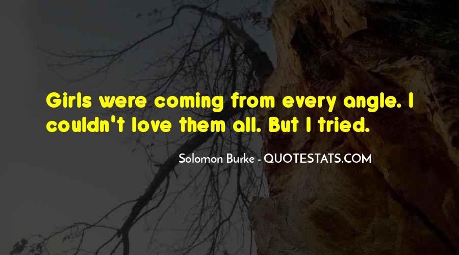Solomon Love Quotes #1441205