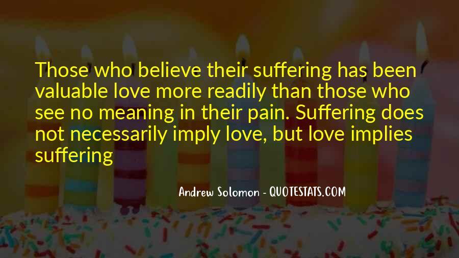 Solomon Love Quotes #1708355