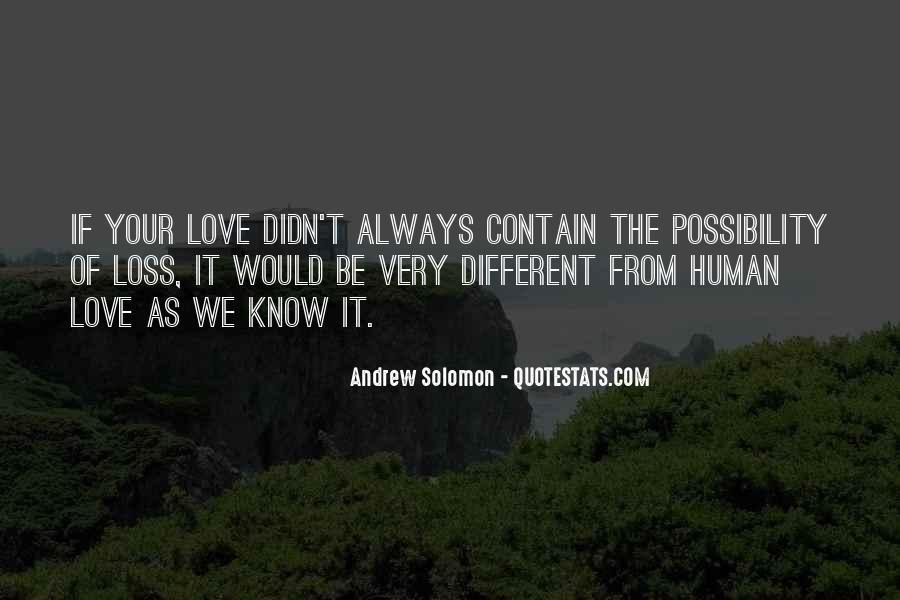 Solomon Love Quotes #187022